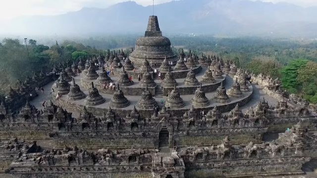 Borobudur or Barabudur Temple
