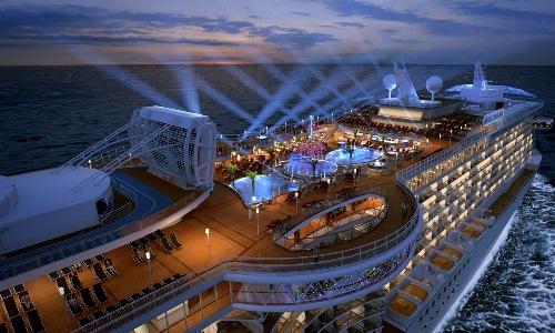 Cruise on board