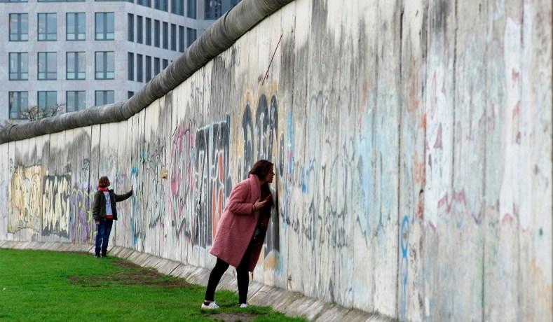 Mauerpark Wall memorial