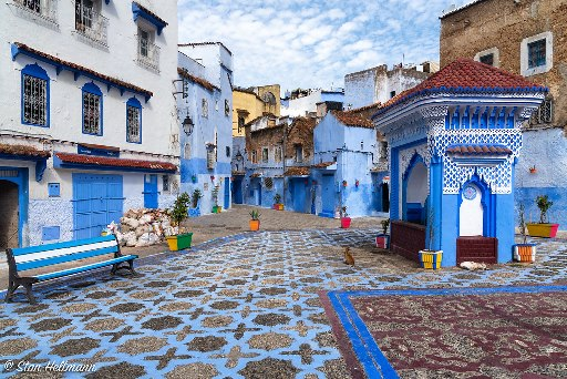 Chefchaouen Square