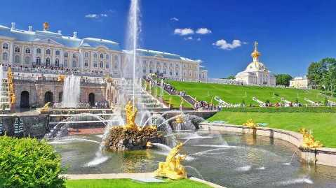 Peterhof Park and Palace